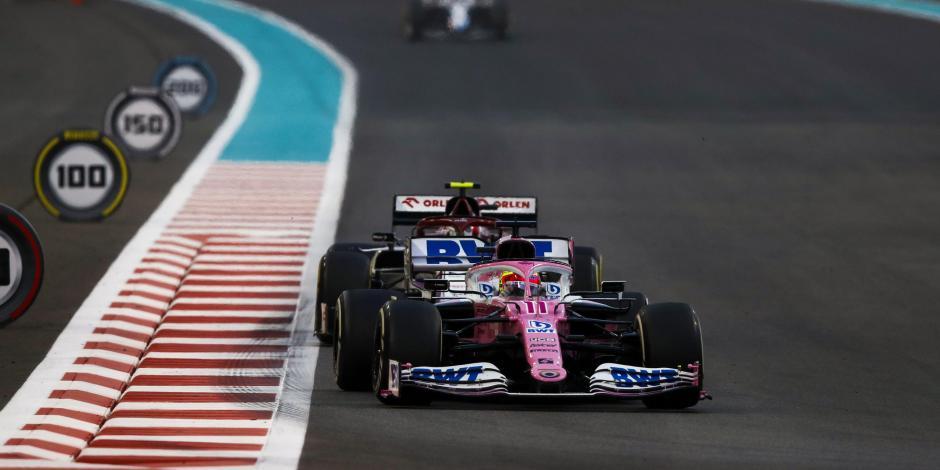 Checo Pérez Fórmula 1 Gran Premio de Abu Dabi