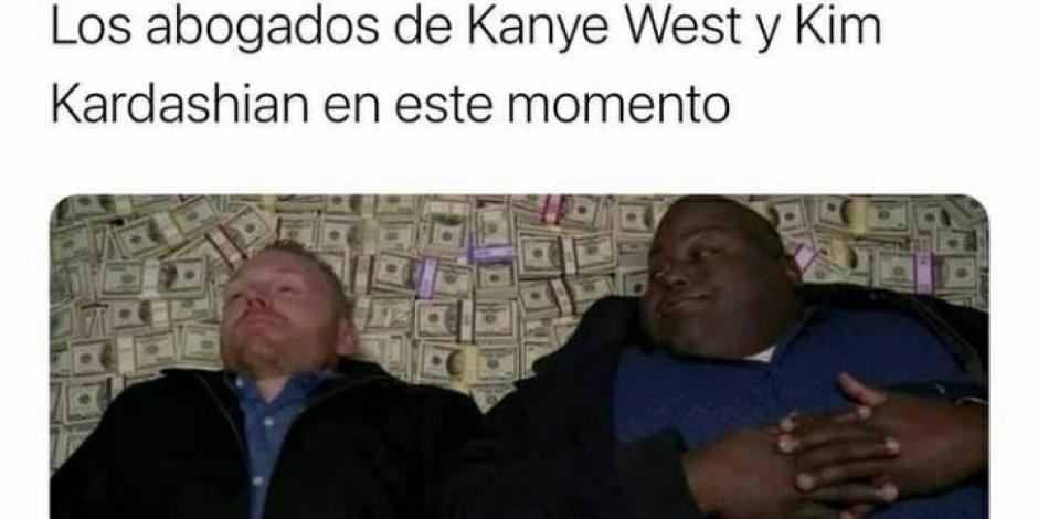 kim kardashian y kanye west divocio memes