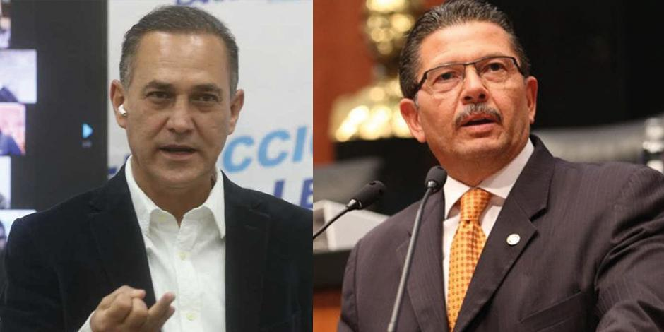 Fernando Larrazabal y Octavio Pedroza