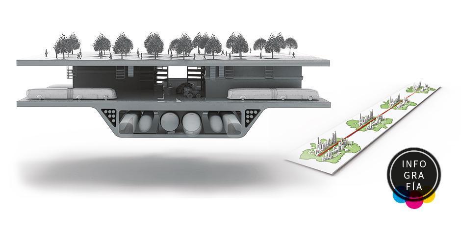 La Línea, una ciudad futurista de 170 kilómetros cero carbono