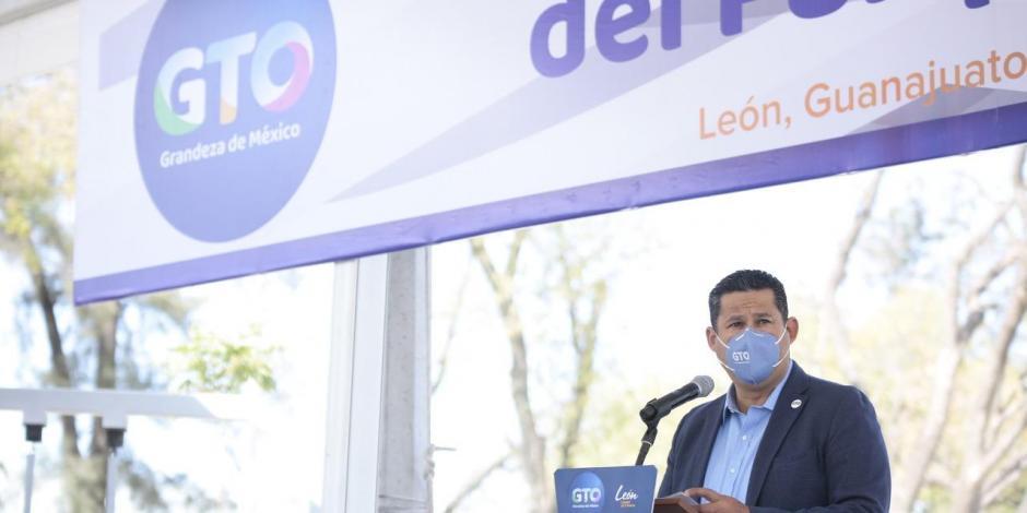 El gobernador de Guanajuato, Diego Sinhue Rodríguez Vallejo.