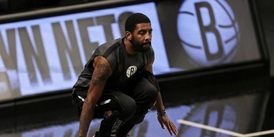 Kyrie Irving NBA Nets Brooklyn George Floyd