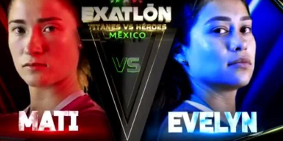 mati y evelyn Exatlón México