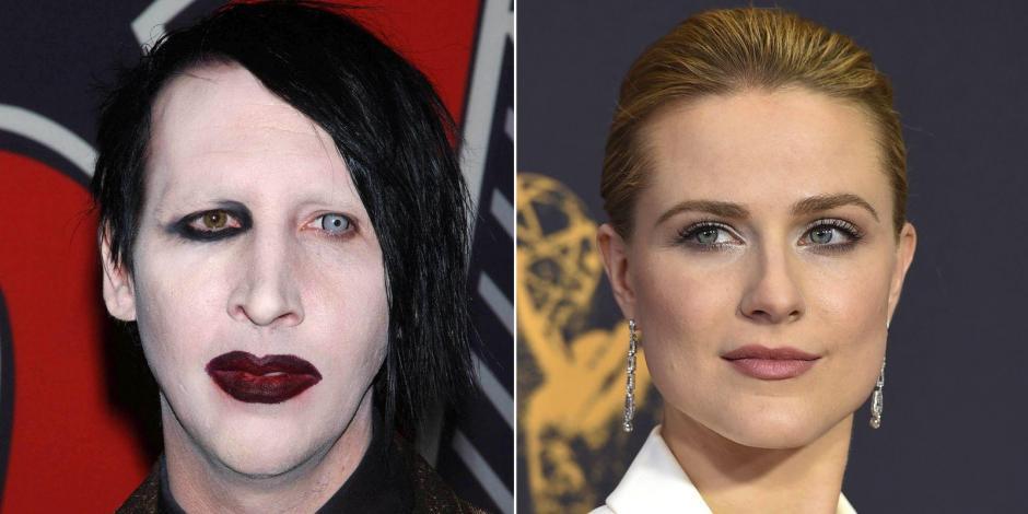 Marilyn Manson y Evan Rachel Wood