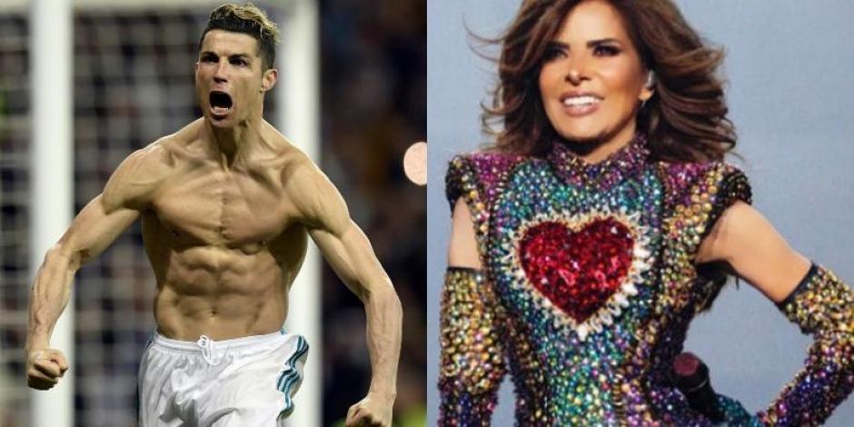 VIDEO_ Cristiano Ronaldo graba clip con Gloria Trevi y revienta las redes sociales