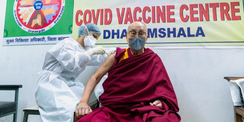 Dalai Lama vacuna covid-19