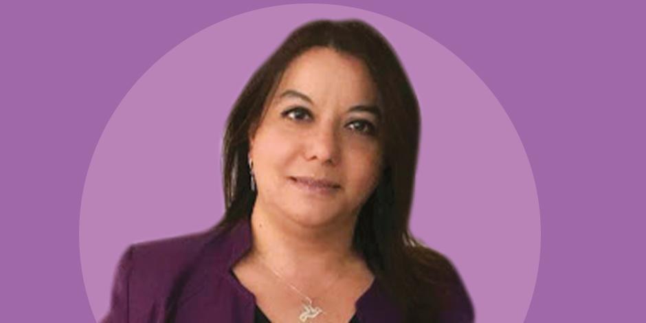 Directora de la Red Nacional de Refugios, Wendy Figueroa