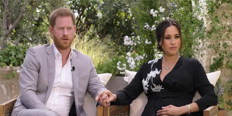 El-principe-Harry-y-Meghan-Markle-en-su-entrevista-con-Oprah-Winfrey