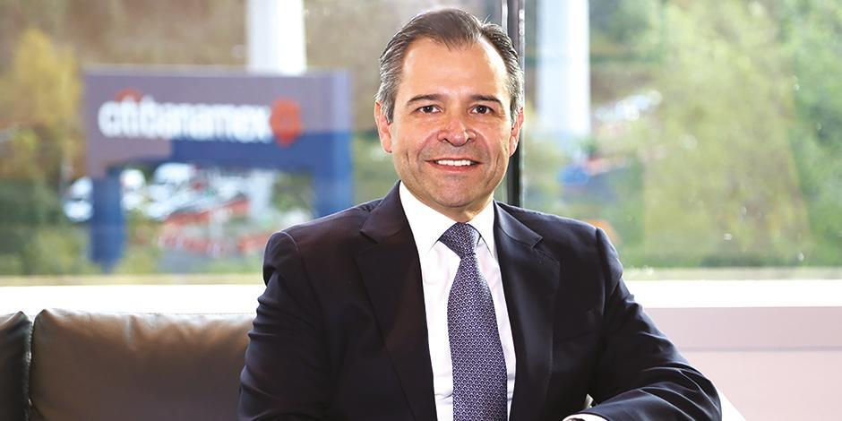 Manuel Romo, director general de Citibanamex.