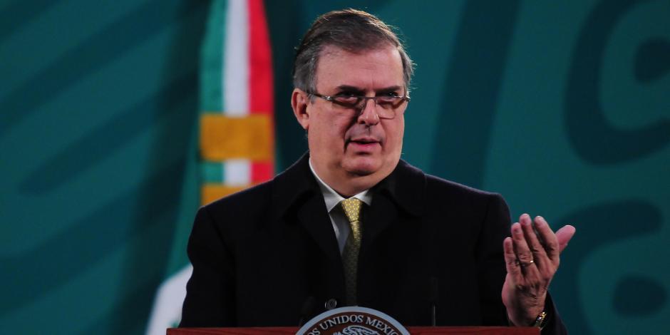 El canciller Marcelo Ebrard, en una fotografía de archivo.
