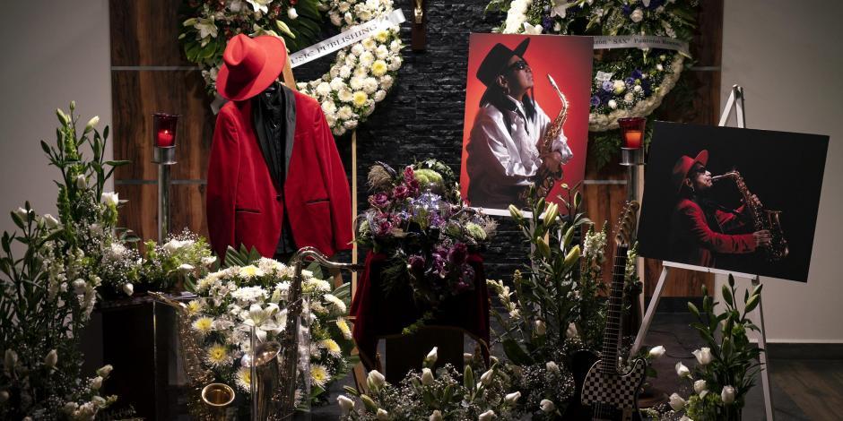 Sax Maldita Vecindad funeral