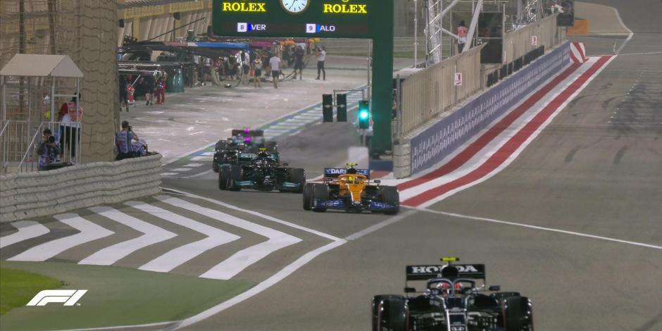 F1: Así arrancarán los pilotos en el GP de Bahréin