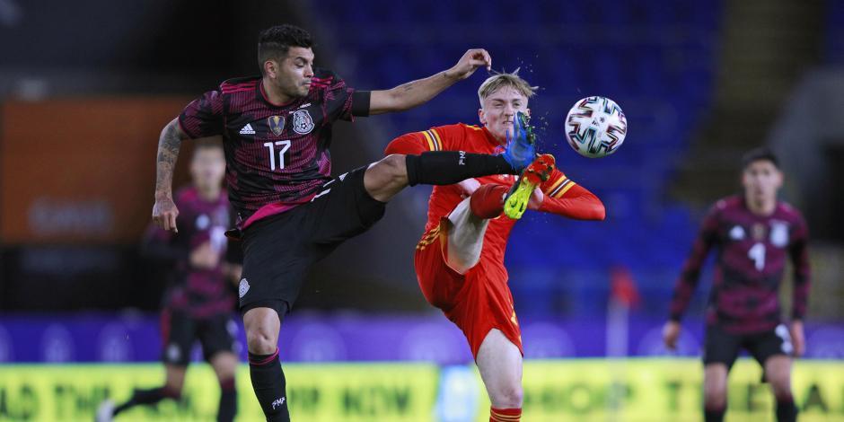 México vs Gales: Ventaja para el cuadro británico, al medio tiempo del partido