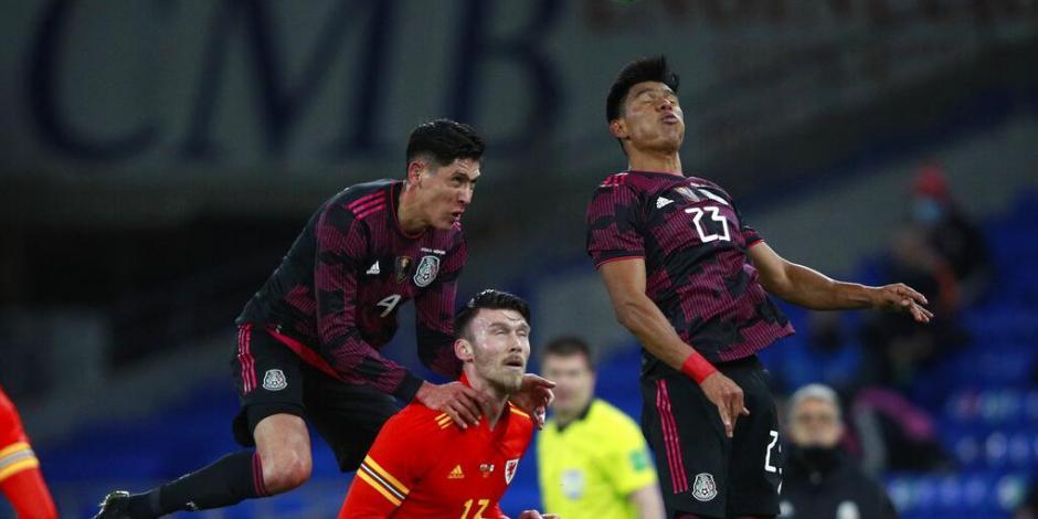 México Gales primer partido de 2021