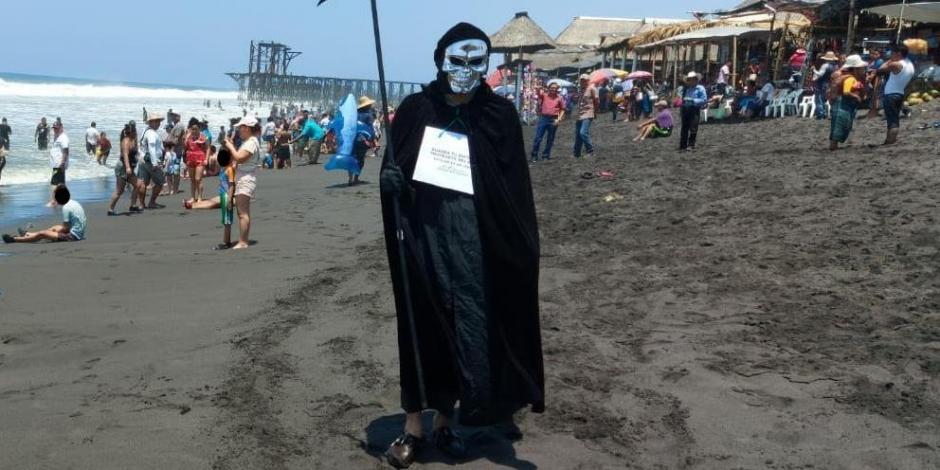 Muerte en la playa
