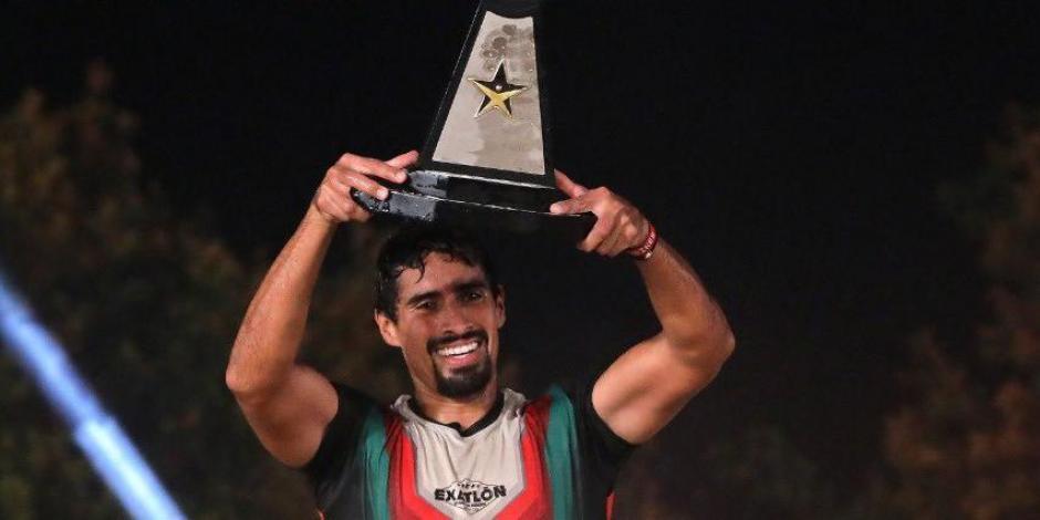 Pato Araujo es el campeón de Exatlón México