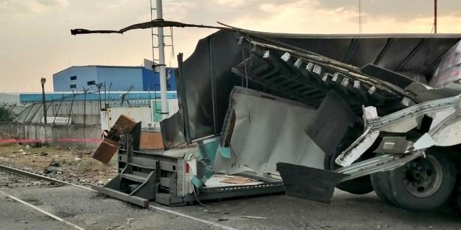 Accidente en Ecatepec