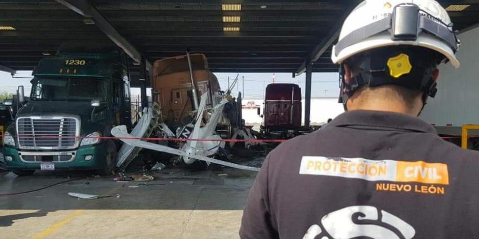 Nuevo León-aeronave-accidente