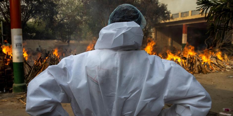 Incendio de Hospital en la India