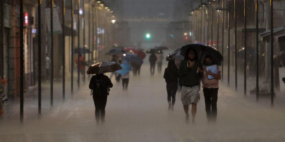 lluvia en México