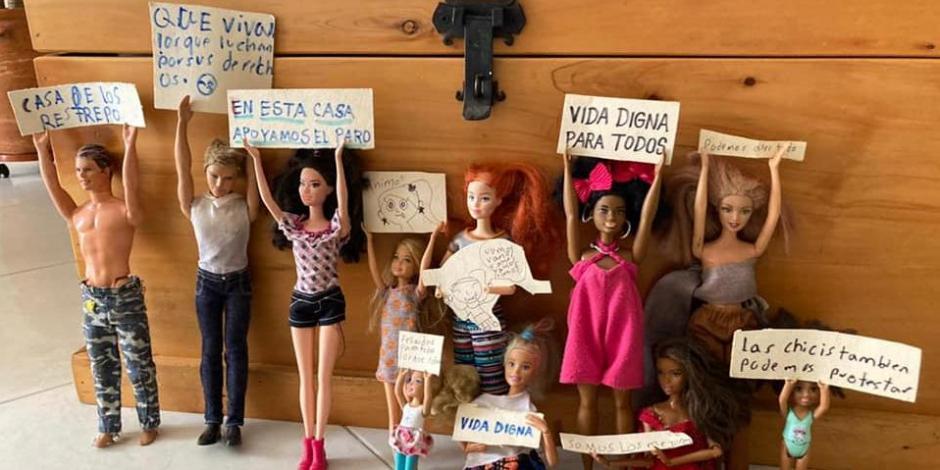 protesta colmbiana