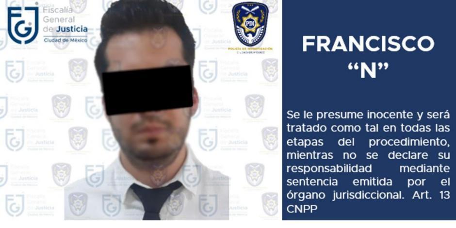 Detienen a presunto violador en la CDMX; informa FGJ