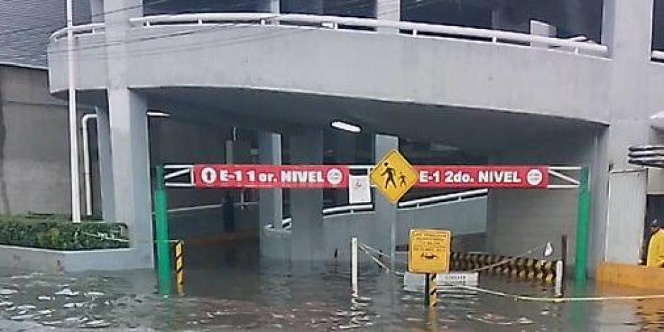 hospital inundado