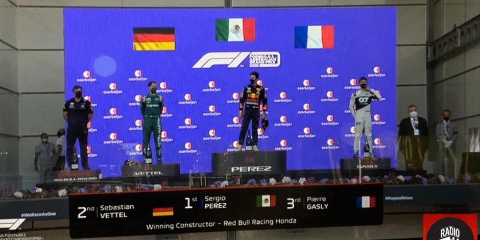 Memes del triunfo de Checo Pérez en el Gran Premio de Azerbaiyán