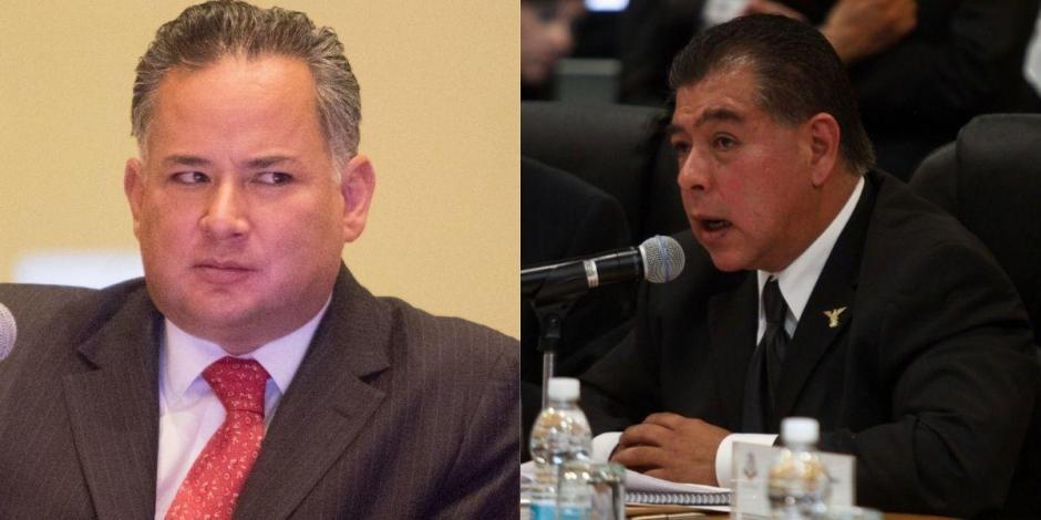 Santiago Nieto y Mario Di Constanzo