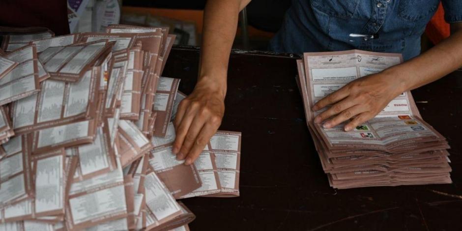 Elecciones , conteo de votos