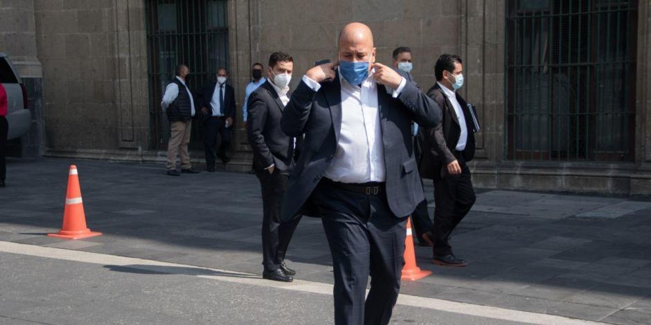 Enrique Alfaro visita a AMlo