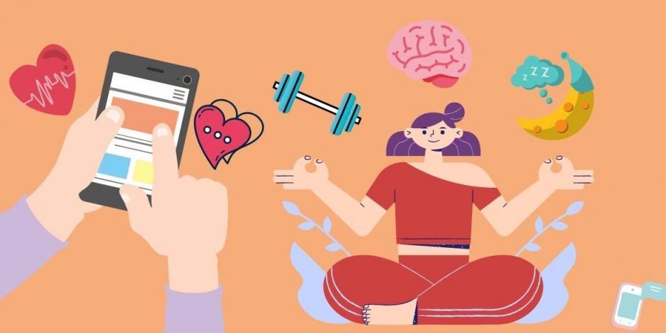 Apps de ejercicio, sueño y cuidado mental
