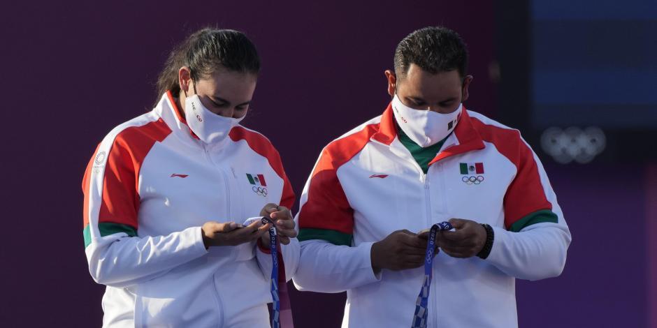 Juegos Olímpicos 2021: Ana Guevara felicita a Alejandra Valencia y Luis Álvarez