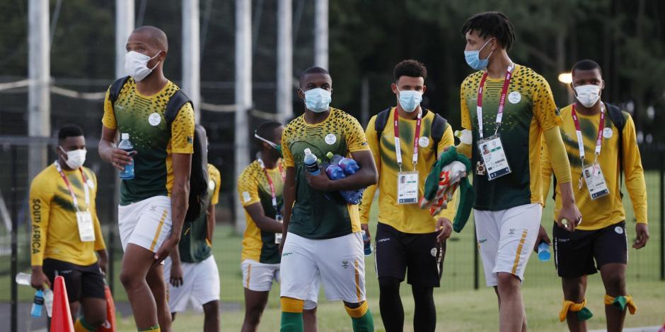 Jugadores de Sudáfrica