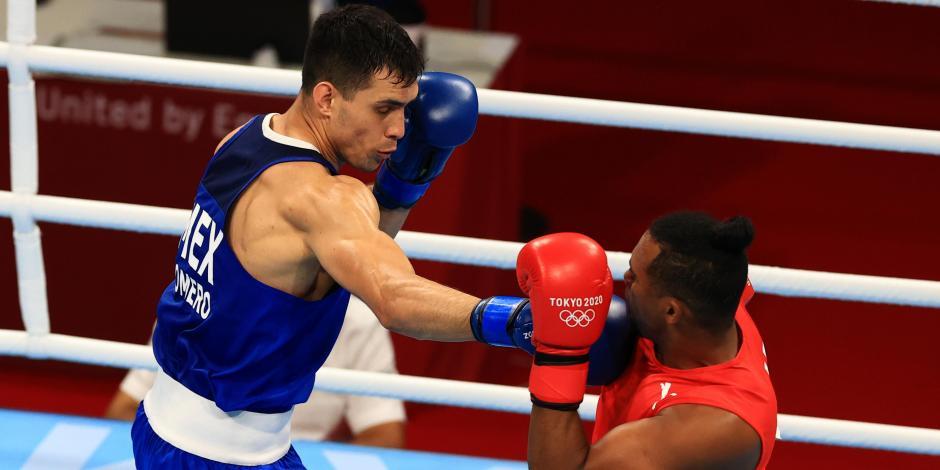 TOKIO 2020: ¡Se acabó el sueño! Rogelio Romero, eliminado en el box de Juegos Olímpicos