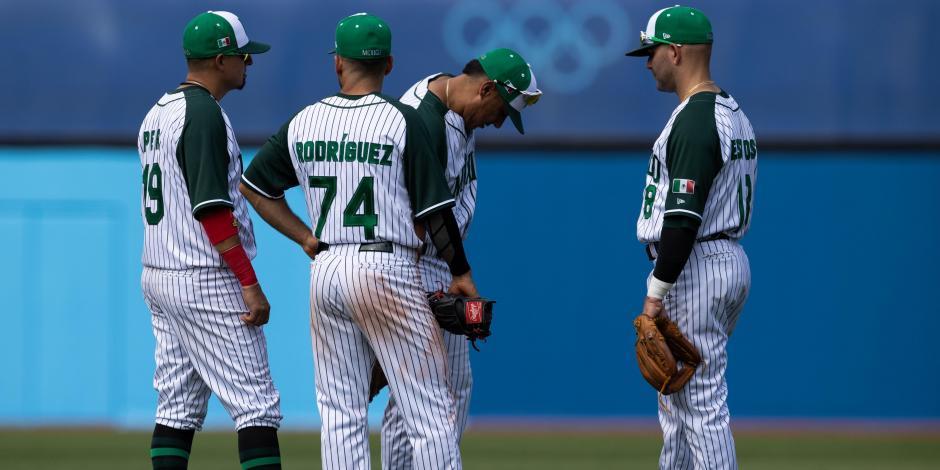 TOKIO 2020: México queda eliminado del beisbol de los Olímpicos; no ganaron ni un juego
