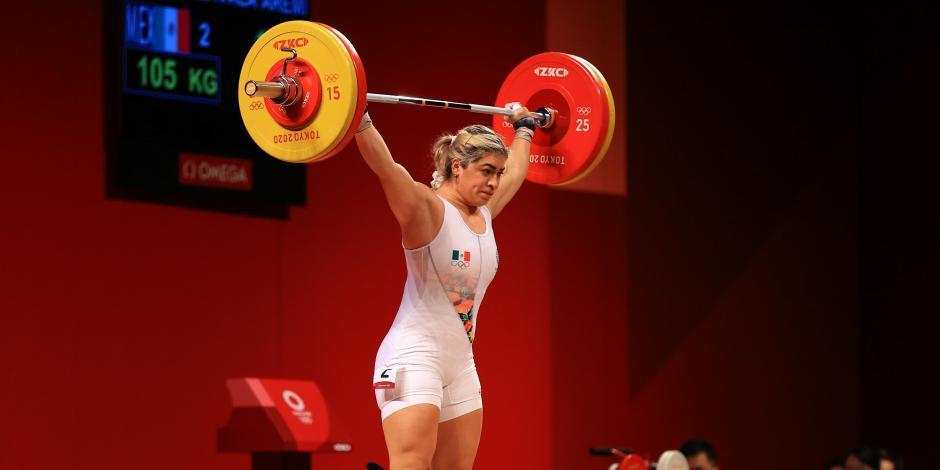 TOKIO 2020: Aremi Fuentes, bronce en halterofilia en Juegos Olímpicos