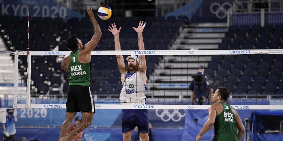 TOKIO 2020: México cae ante Brasil y queda eliminado del voleibol de playa