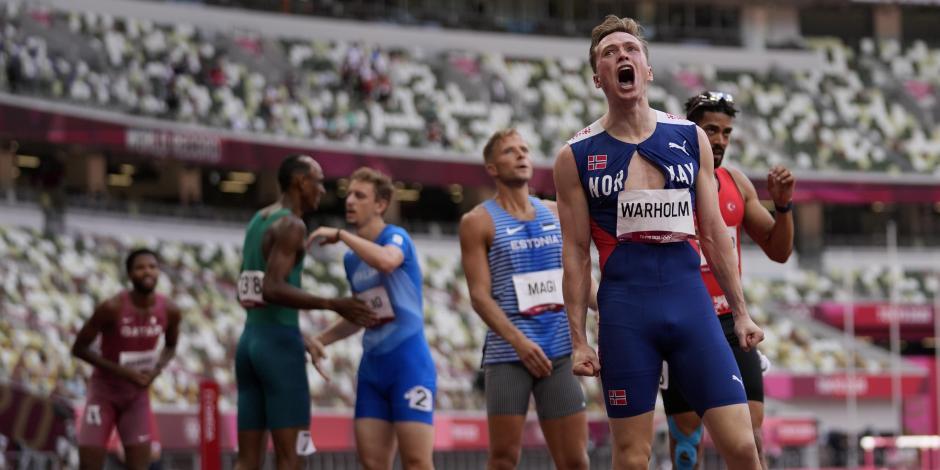 TOKIO 2020: Karsten Warholm destroza el récord del mundo en los 400m con vallas y se cuelga el oro
