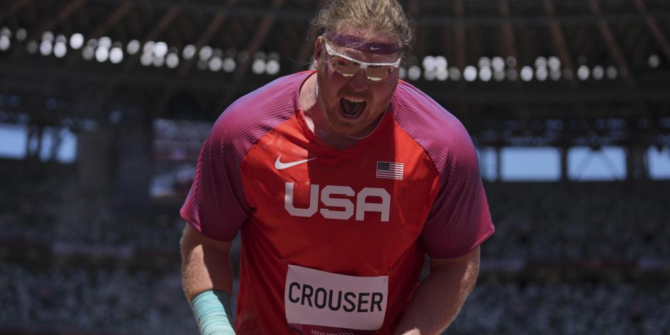 TOKIO 2020: Ryan Crouser rompe su récord tres veces y es bicampeón olímpico