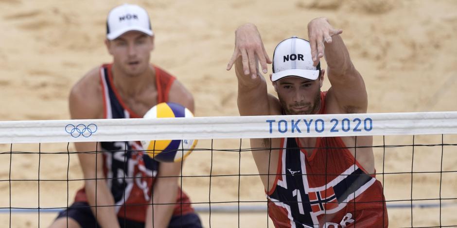 TOKIO: Noruega sorprende y se cuelga el oro en voliebol de playa