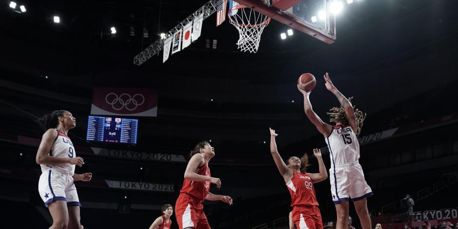 TOKIO 2020: Estados Unidos se corona en el basquetbol femenil de Juegos Olímpicos