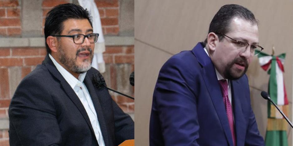 Reyes Mondragón Rodríguez (izq) y  José Luis Vargas Valdez (der)