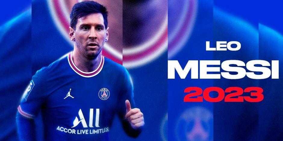 MESSI: ¡OFICIAL! Paris Saint-Germain anuncia el fichaje del argentino