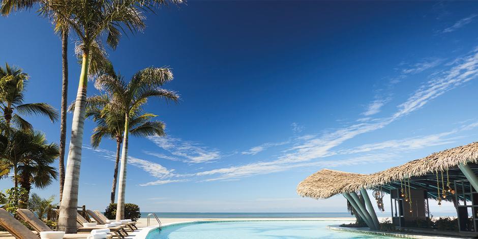 Beachland.  Dentro de esta amenidad se encuentra el lounge exclusivo para los huéspedes.