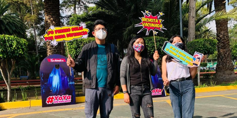 Vacunación Xochimilco