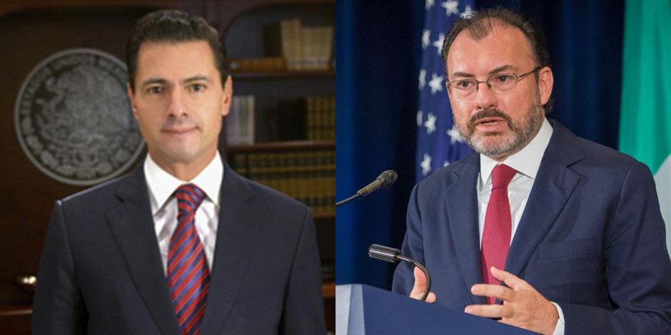Enrique Peña Nieto y Luis Videgaray