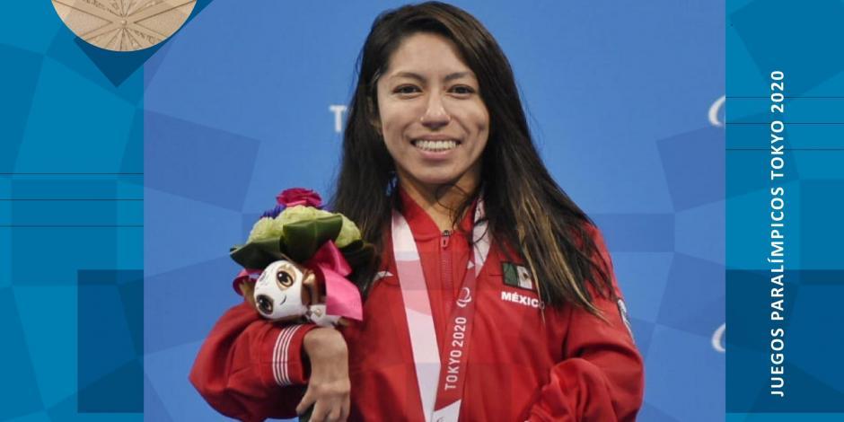 ganadora juegos paralimpicos