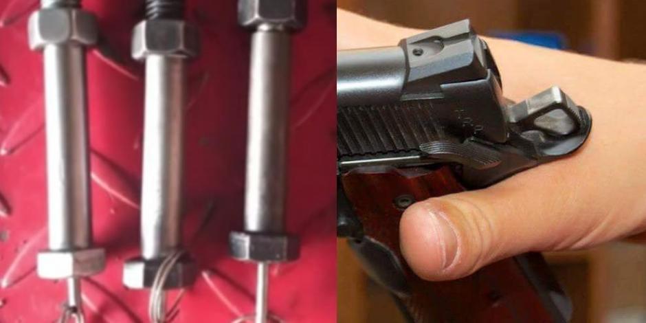 Alertan por la venta de una pistola que parece tornillo en México