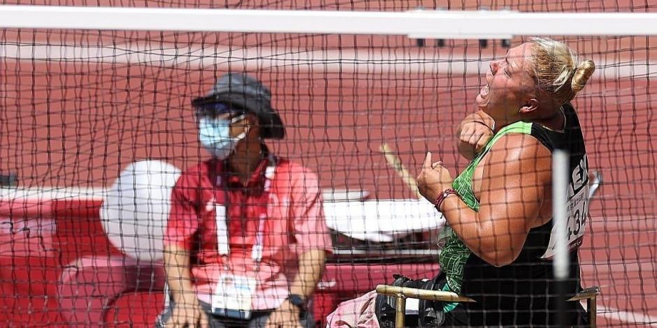 Juegos Paralímpicos: Rosa María Guerrero se cuelga el en el lanzamiento de disco